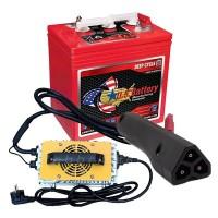 Batterie Golf Cart e Caricabatterie