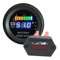 Indicatori di Carica Golf Car a LED e Standard